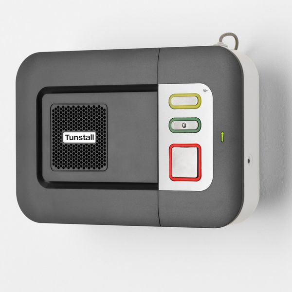 Hausnotrufgerät Tunstall Lifeline Serie Vi / Vi+ / GSM (Foto: Tunstall)